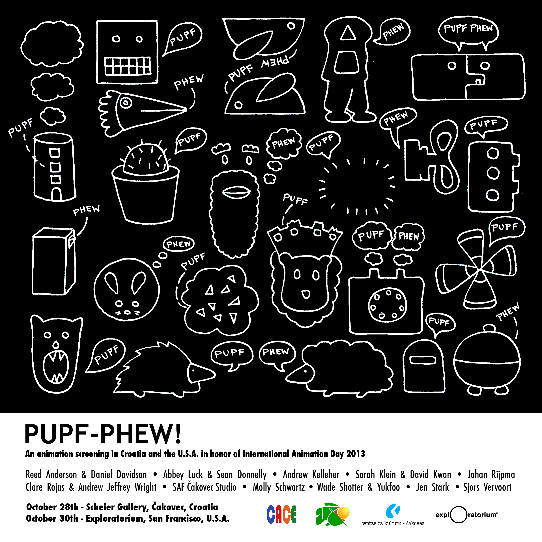 Pupf-Phew! poster 20130909B